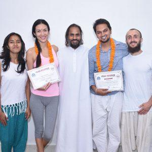 Meditation Teacher Training Student With Swami Dhayn Samrath