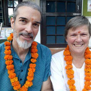 A best Couple in Yoga Teacher Training course