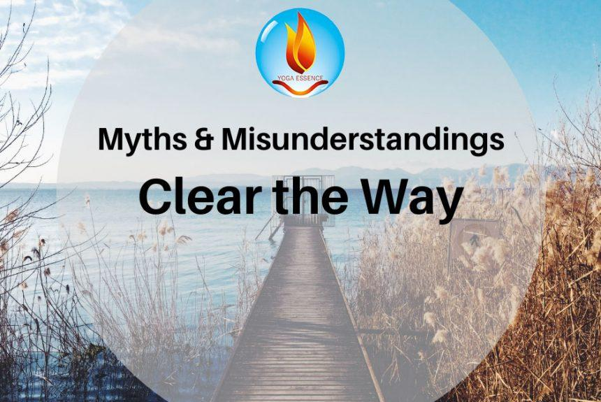 MISUNDERSTANDINGS ABOUT MEDITATION